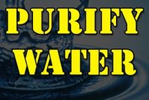 Prepper Water / Water purification, and storage advice.