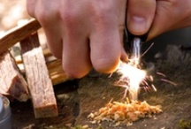 Prepper Fire / There are many ways to create fire in an emergency.