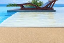 Fabulous Swimming Pools / contemporary outdoors - we now have product which is ideal for swimming pool surrounds.  We just love these pools!