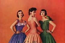 Vintage Fashion, Photography & Illustration / All the best moments of beauty and fashion, captured across the most flattering years by camera or pencil. At least, what I certainly like.