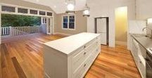 Spotted Gum Timber Flooring / Timber floors and stairs by Insight Flooring.   Spotted Gum, Australian Hardwood T&G timber flooring.