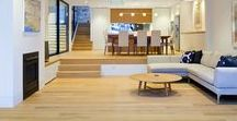 American Oak Flooring / Timber floors and stairs by Insight Flooring.   Solid, American Oak T&G timber flooring.  #insightflooring #timberflooringsydney