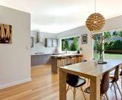 Blackbutt Timber Flooring / Timber floors and stairs by Insight Flooring.  Blackbutt, Australian Hardwood T&G timber flooring.
