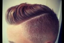 Barber / Men's hairstyles and barbers