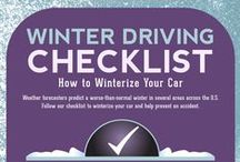 Winter Car Safety / Winter is here, make sure you check out these tips to stay safe on the roads.