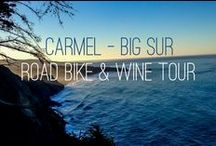 Carmel- Big Sur Road Bike & Wine Tour / Epic Trip For Your Soul with Le Grand Adventure Tours / by Le Grand Adventure Tours