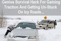 Snow Car Safety / We hoped and prayed for snow and we got it! #Snow #Day! Make sure that you enjoy it as safely as you can with our top car tips!