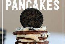 Pancake Lovin' / It's pancake season, so feast your eyes on these tasty masterpieces! Plus try a few yummy recipes :)