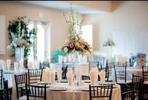 Receptions at The Grand Oaks / Receptions and parties at the Grand Oaks, Also includes decoration and set-up ideas.