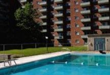 Salaberry Apartments / Le Salaberry combines convenience, comfort and location to provide an excellent rental home value. It caters to an active lifestyle with its tennis courts and an outdoor pool. Take advantage of the nearby Gatineau Park with miles of trails and pathways offering 4-season activities. The post secondary CEGEP school campuses are just a short stroll away. Access to shopping, dining and bus routes is close at hand.  Come make Le Salaberry Apartments your home!