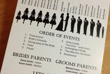 Helpful Wedding Tips / Pins to help in all aspects of your wedding.
