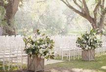 Aisle Decor / Inspirational ideas to decorate your ceremony aisle