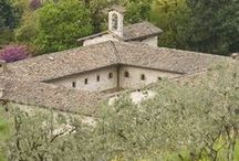 PARK HOTEL AI CAPPUCCINI, GUBBIO, UMBRIA, ITALY / A former 17th century monastery transformed into a charming hotel, within a walking distance from the superb historic town centre of Gubbio, Umbria, Italy