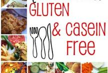 Gluten Free-Casein Free Diet / An ever-growing list of recipes and alternatives for individuals on a gluten free or casein free diet.