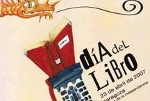 Carteles del Día del libro, 23 de abril / Carteles elaborados por distintas entidades para la promoción de la lectura con motivo de la celebración del Día del libro