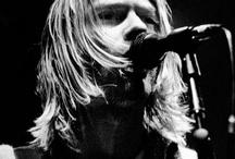 Kurt Cobain / Vocalista da bamda de rock Nirvana, idolo do grunge!