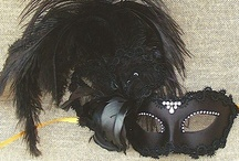 Feather Masquerade Masks / by VIVO Masks