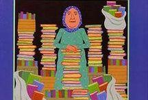 Protagonistas: BIBLIOTECAS, BIBLIOTECARIAS Y BIBLIOTECARIOS / Libros infantiles donde los protagonistas son las bibliotecas y/o las bibliotecarias/los bibliotecarios