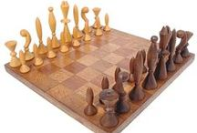 Chess Set Designs / A collection of modern, classical, vintage chess boards and chess pieces with variety of designs, colors, shapes and ideas.