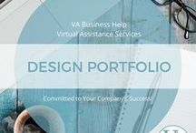 VABIZHELP Design Portfolio / Virtual Assistant, Stacey Shanahan ~ Graphic Design Portfolio ~ Business Cards, Rack Cards, Tri-Fold Brochures ~ Flyers ~ Book Covers ~ Postcards ~  https://www.vabusinesshelp.com