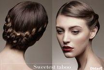Comptoir des Cheveux Longs / Didact vous présente le nouveau concept. Présentant un menu de 10 coiffures directement inspiré des défilés. Des chignons upstreet, des couronnes de tresses urbaines et ultra romantiques...