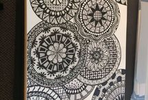 My Zentangles / A place where I can show all my Zentangles - the good, the bad, and the downright ugly!