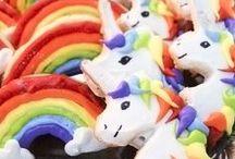 Rainbow Unicorn Party :3