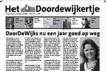 2e editie Het DoorDeWijkertje / losse artikelen uit de 1e editie van Het Doordewijkertje.