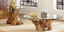 Accent Tables / display proudly or store neatly