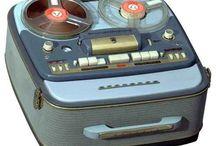 Jukebox, TV, tape recorder etc.