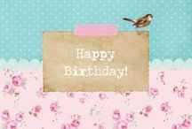 Best Wishes / Birthday gift ideas, diy presents&cards, cakes, cupcakes,sweets and surprises..