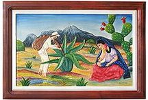 Authentic Mexican Art / http://www.lafuente.com/Mexican-Art/