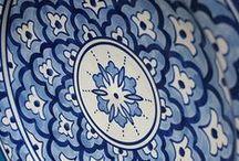 Talavera Pottery / Authentic Talavera Pottery: http://www.lafuente.com/Mexican-Decor/Talavera-Pottery/