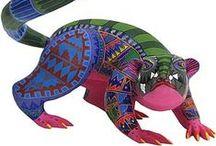Oaxaca Wood Carvings