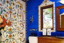 Talavera Tiles / Authentic Mexican Talavera Tiles ~ http://www.lafuente.com/Tile/Talavera-Tile/