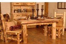 Aspen Log Furniture / La Fuente Imports presents breathtaking Aspen Log Furniture for your home.  http://www.lafuente.com/Cabin-Furniture/Aspen-Log-Furniture/
