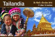 Tailandia, de Norte a Sur / Descubre Tailandia, de Norte a Sur.