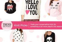 Trend Report-Graphic Sweaters