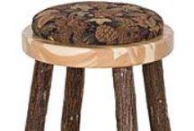 Hickory Log Furniture / Furniture is handmade in the USA. http://www.lafuente.com/Rustic-Furniture/Hickory-Log-Furniture/