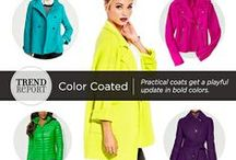 Trend We Love...Boldly Colored Outerwear