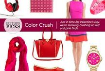 February Editor's Picks - Red & Pink