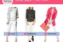 How to Wear - White Jeans