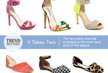 Trend Report - Two Piece Shoes
