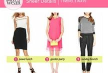 How to Wear - Sheer Details