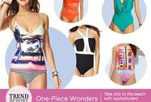 Trend Report - One-Piece Swimsuits