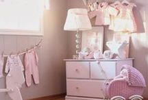 Romantic rooms for little girls / shabby chic, pink, white ...
