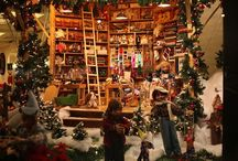 Toy stores/holiday windows
