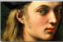 Beautiful eyes (details) / painting, Old Masters