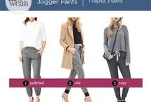 How To Wear - Jogger Pants