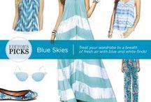 "May ""Editors Picks"" Blue & White"